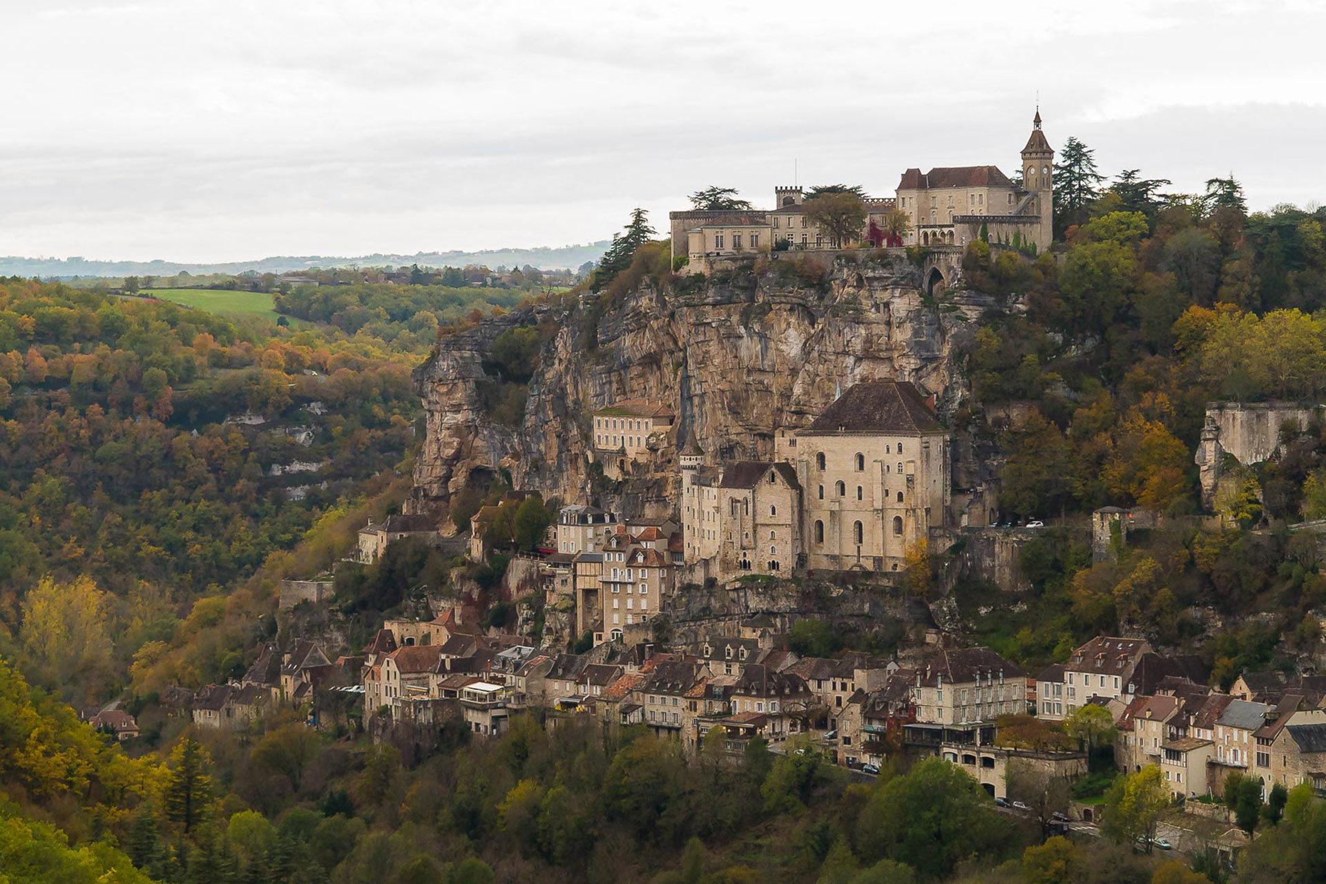 Alain Freiholz Photographie, Paysage Rocamadour - France